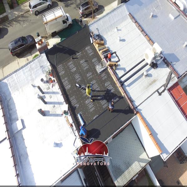Flat Roof Repair Canarsie Brooklyn Big Apple