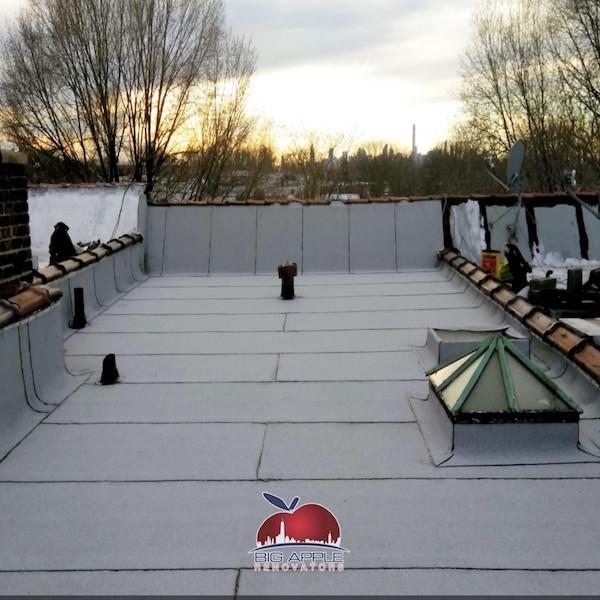 Flat Roof Replacement Elmhurst Ny Big Apple Renovators