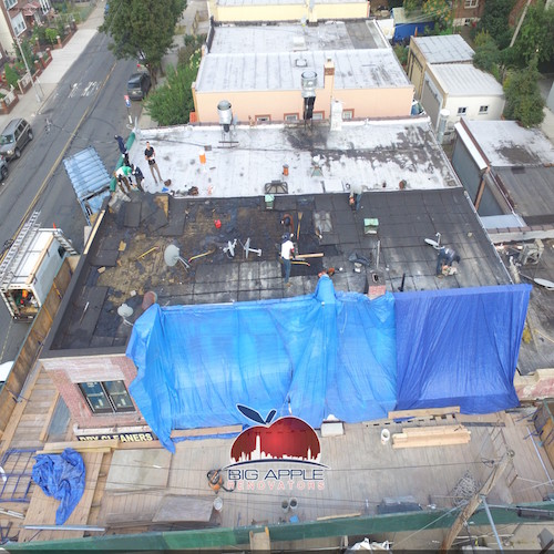 Commercial Flat Roof Replacement In Astoria Ny Big Apple